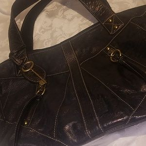 Vintage Fossil Satchel Purse Like New